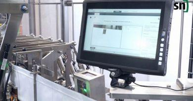 Control de calidad a alta velocidad mediante cámaras de alta tecnología de Leuze