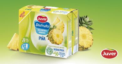 Juver Alimentación innova en sus envases minibrik, convirtiéndolos en los más sostenibles del mercado