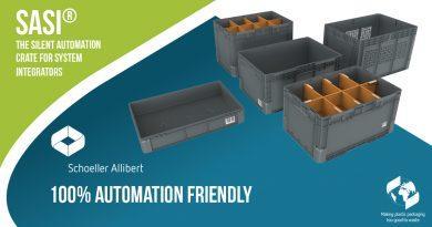 Schoeller Allibert presenta sus cajas silenciosas para almacenes automáticos