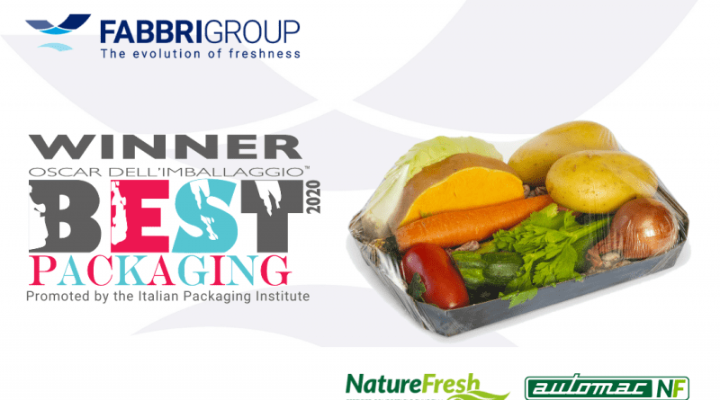 "El nuevo film compostable NATURE FRESH galardonado con el premio italiano ""Packaging Oscar"""